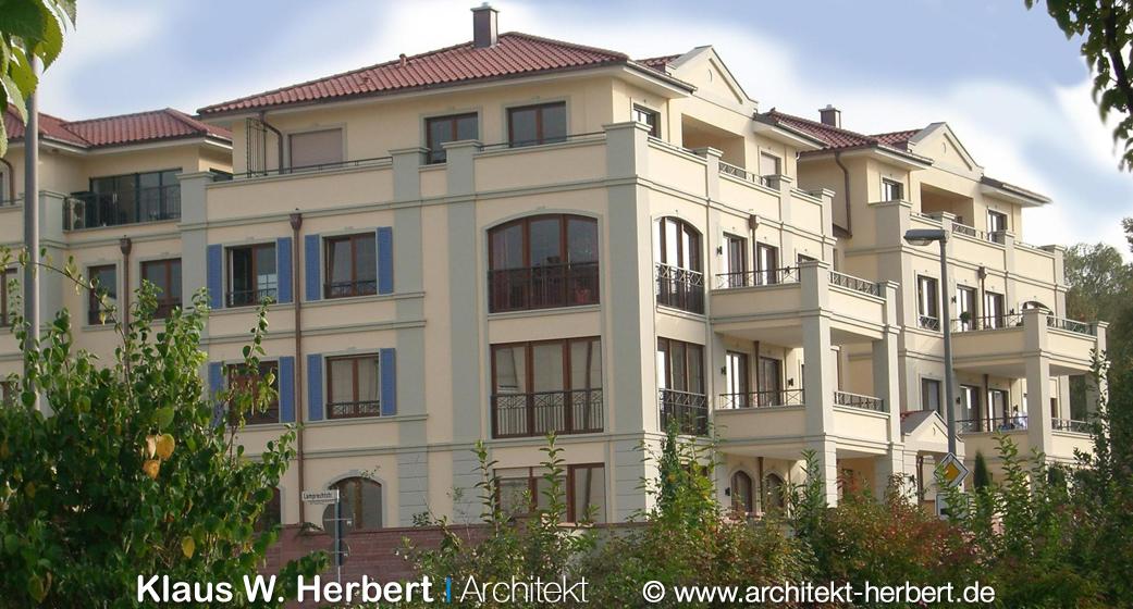 Klaus w herbert architekt aschaffenburg residenz am for Bauhaus aschaffenburg
