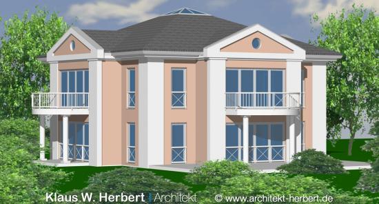 klaus w herbert architekt aschaffenburg villa dr wengerter. Black Bedroom Furniture Sets. Home Design Ideas